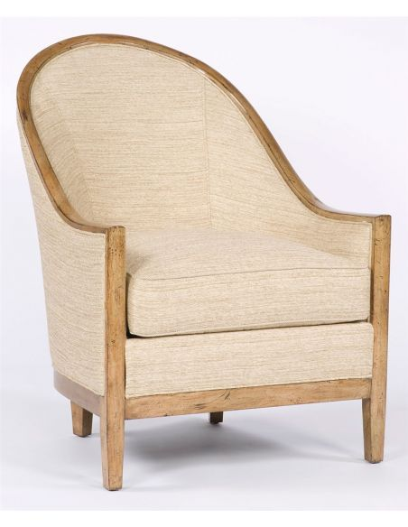 Accent living room chair. 34