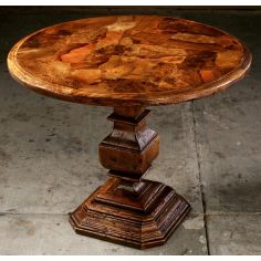 Accent table. Round side or center table.