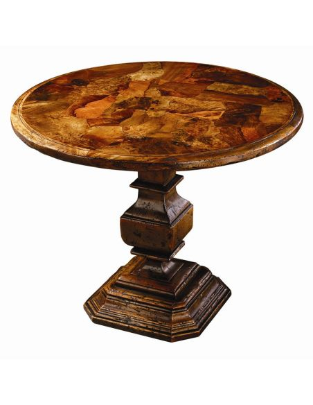 Foyer and Center Tables Accent table. Round side or center table.