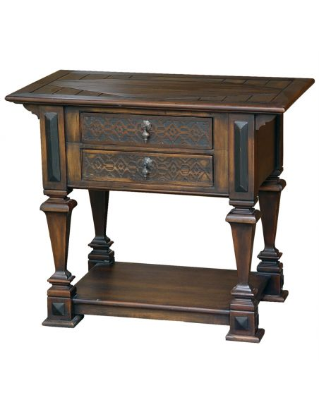 Square & Rectangular Side Tables Accent table. square side table with drawers. Luxury furniture