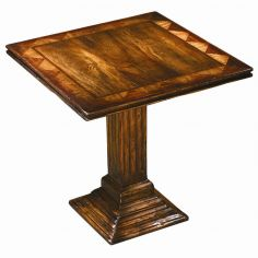 Accent table. square side table. Luxury furniture.