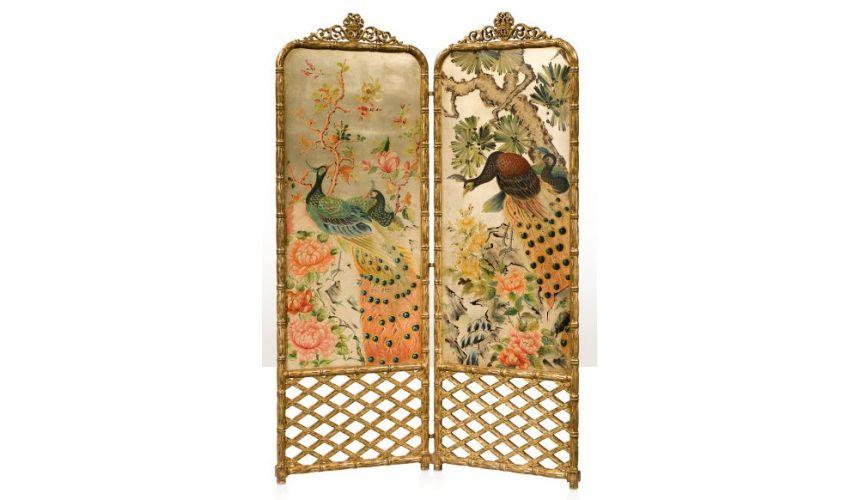 Decorative Accessories The Peacock Screen