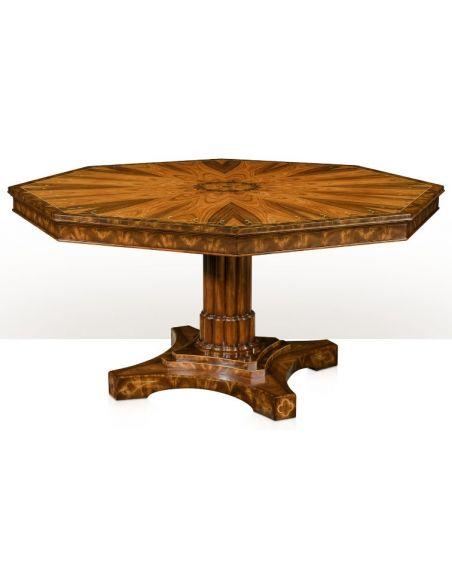 The Regency Octagon Table