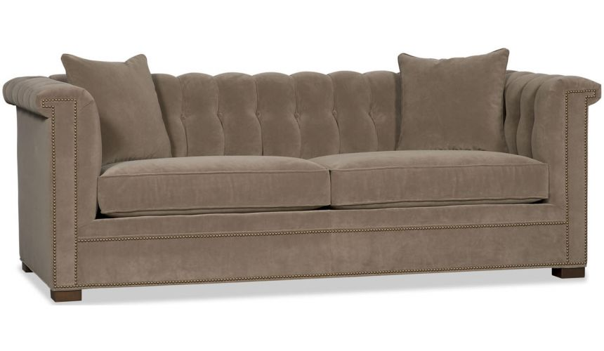 SOFA, COUCH & LOVESEAT Upholstered High-Arm Sofa