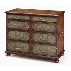 Chest of drawers, antique reproduction furniture.