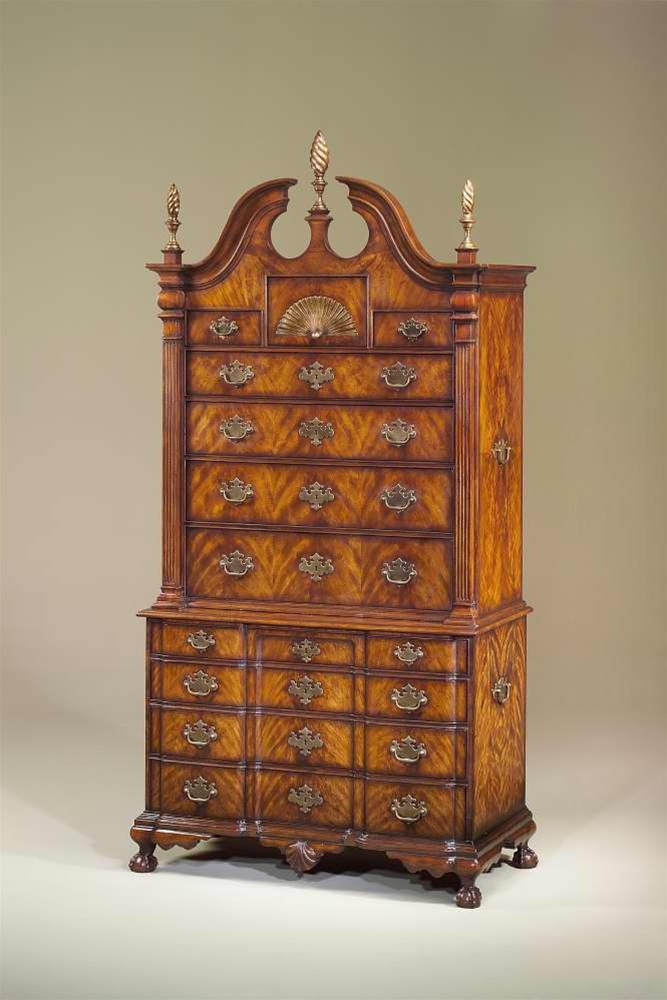 Superb Display Cabinets And Armories An American Mahogany Chest On Chest, Antique  Reproduction Furniture