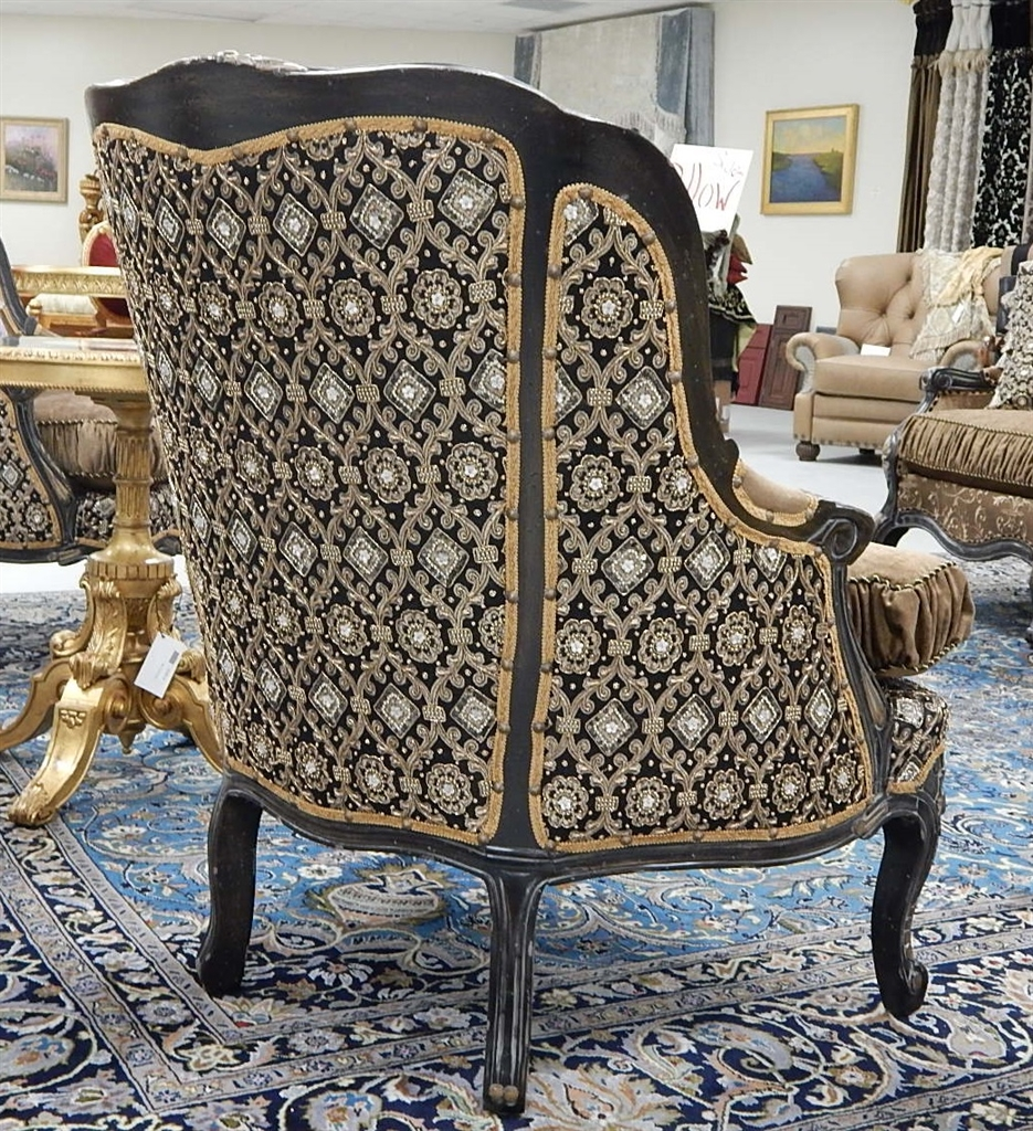 Luxury Leather U0026 Upholstered Furniture Arabian Jewel Accent Chairs 22