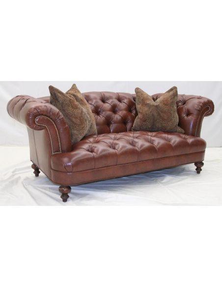 Ariel Chesterfield chair. Luxury Furniture