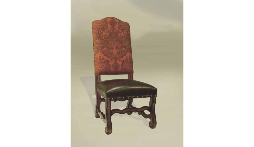Dining Chairs Rustic Luxury Furniture Antique Wine Side Chair