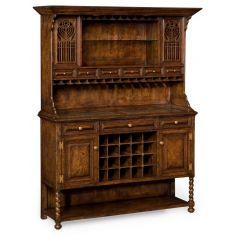 Home Bar Furniture Oak Drinks Cabinet