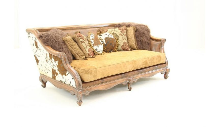 Wild Wild West Sofa-sofa, chair, leather, fabric