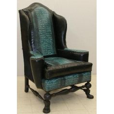 Blue Lagoon predator chair, fine home furnishings