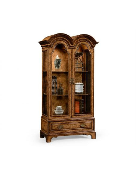 Breakfronts & China Cabinets Bookcase Display Cabinet. Luxury Furniture