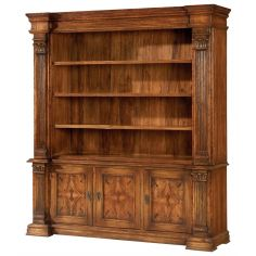 Bookcase or plasma TV cabinet, entertainment or display case.
