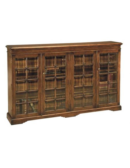 Bookcases Bookcase with Paneled Glass