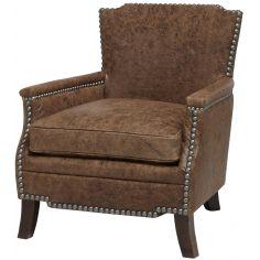 Desperado Saddle Bag Upholstered Arm Chair