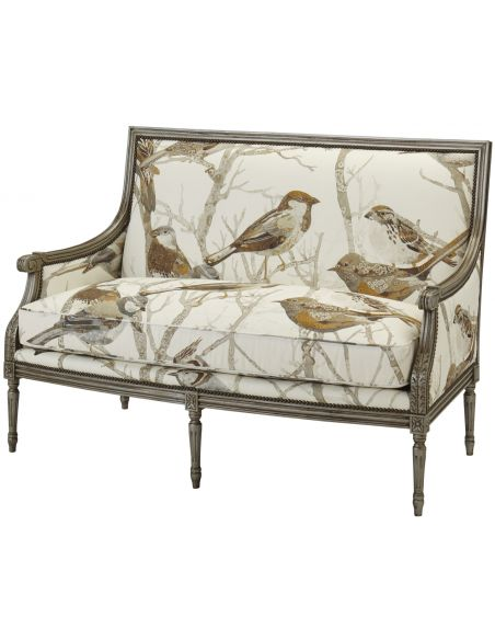 Luxury Leather & Upholstered Furniture Sparrows Natural Arm Chair