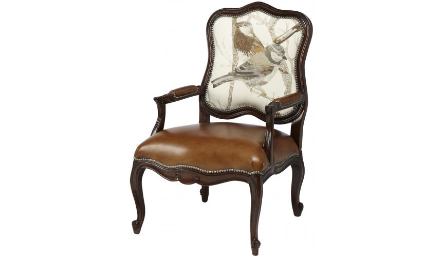 Luxury Leather & Upholstered Furniture Sparrows Natural Club Chair