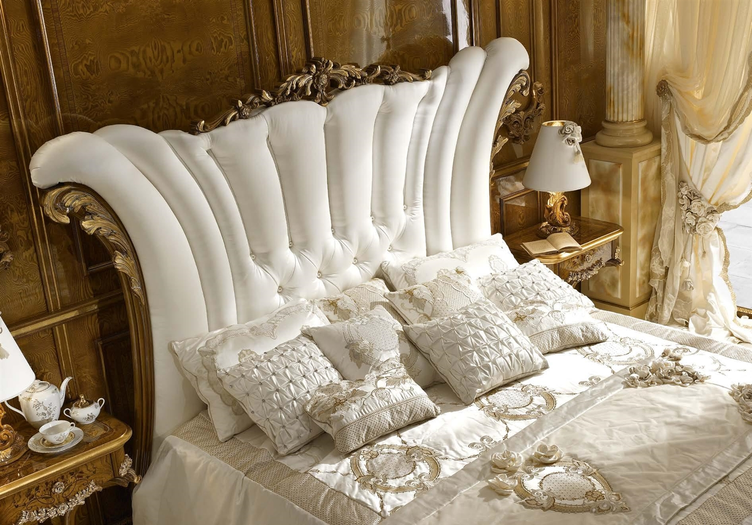 white upholstered beds. BEDS - Queen, King \u0026 California Sizes White Upholstered Bed With Surround Beds D