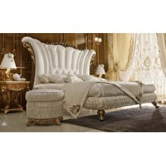 White Bed with Sommier