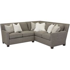 Geneve Chocolate Upholstered Sofa