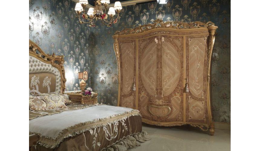 Furniture Masterpieces Elegant 4 Door King Size Wardrobe
