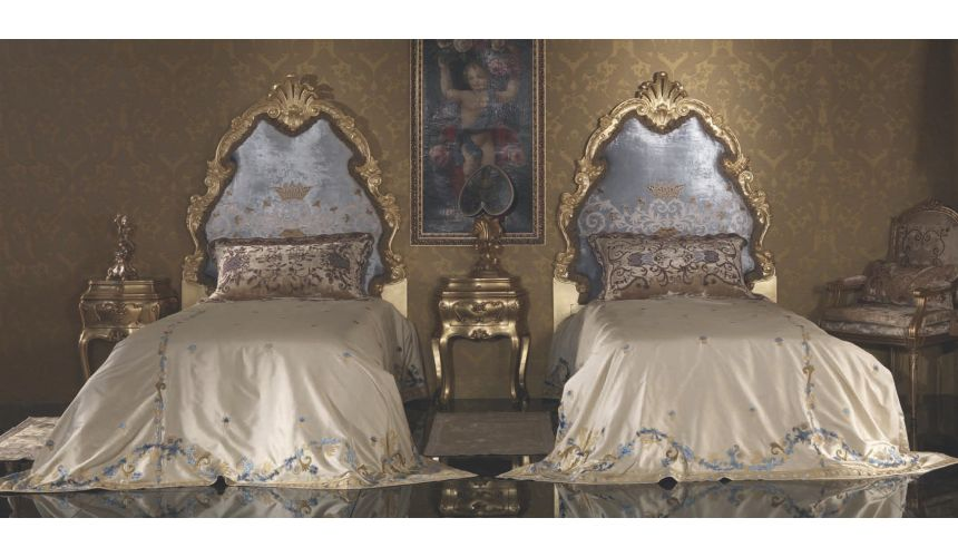 Queen and King Sized Beds Fancy Twin Bed with Surround