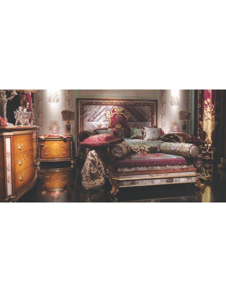 BEDS - Queen, King & California King Sizes King Size Master Bed Large Headboard