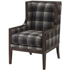 Aberdeen Flint Upholstered Arm Chair