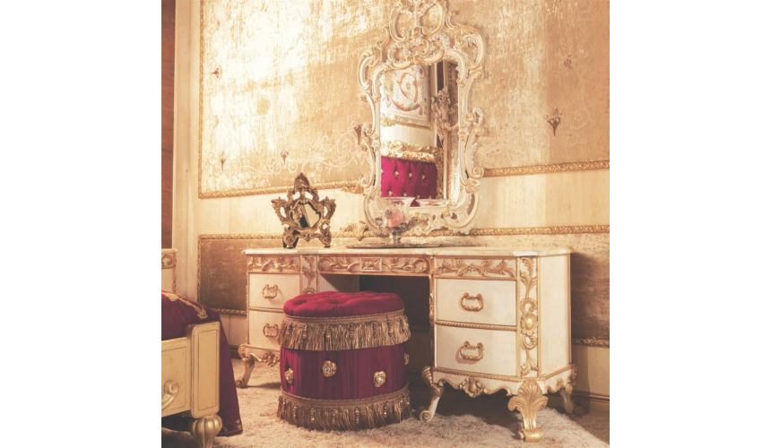 Furniture Masterpieces Designer Italian Vanity Dressing Table