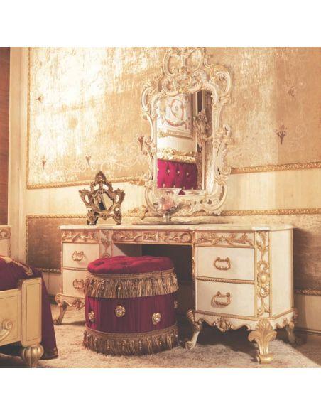 Furniture Masterpieces Designer Italian Vanity Dressing Table