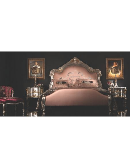BEDS - Queen, King & California King Sizes Elegant Italian Queen Bed