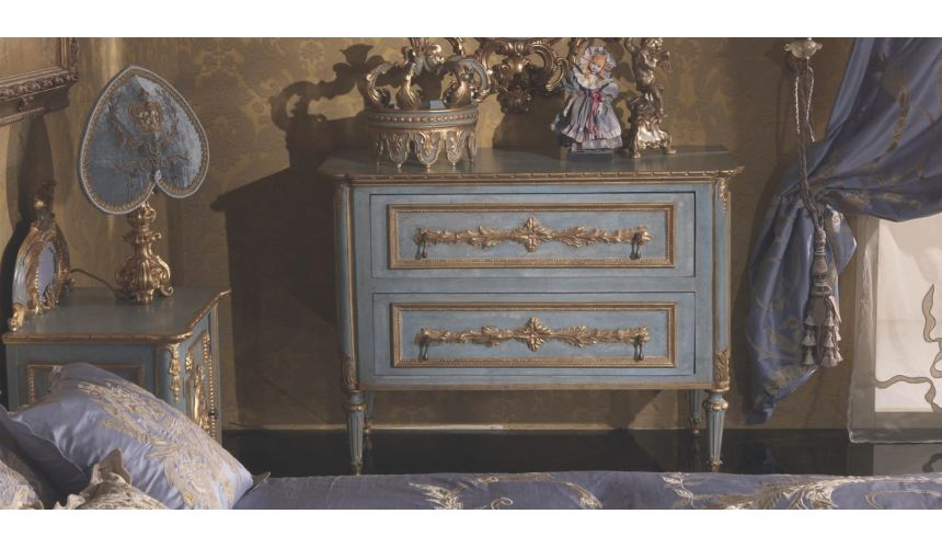 Furniture Masterpieces Classic Italian Dresser with Two Drawers