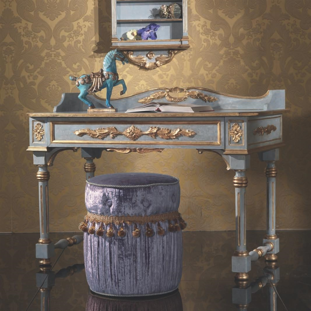 Fancy Italian Style Writing Desk For Bedroom
