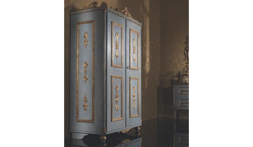 Furniture Masterpieces Fancy Italian Style Wardrobe