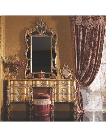 Executive Desks Stylish Italian Vanity Dressing Table with Drawers