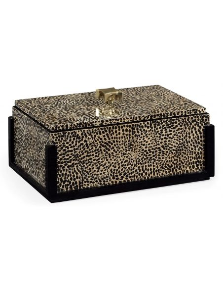 Other Home Accessories Snake Skin Design Rectangular Box