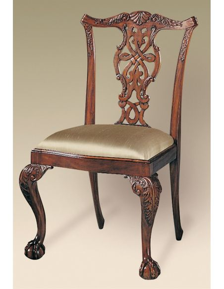 Dining Chairs Brendas Dining Chairs. Mahogany carved Chippendale