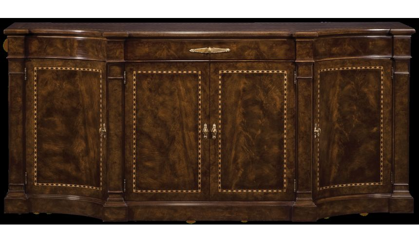 Breakfronts & China Cabinets Buffet cabinet. The best in American made furniture and furnishings.