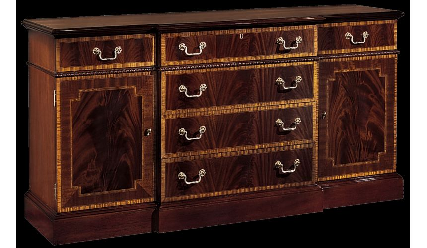 Breakfronts & China Cabinets Buffet cabinet. American made furniture and furnishings.
