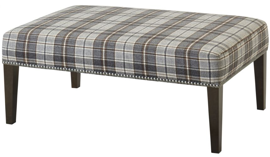 Luxury Leather & Upholstered Furniture Designer Ottoman Bench