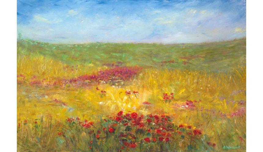 Original Oil Paintings By Artist: Anne-Marie Debuissert Canvas oil painting art prints 24 x 36