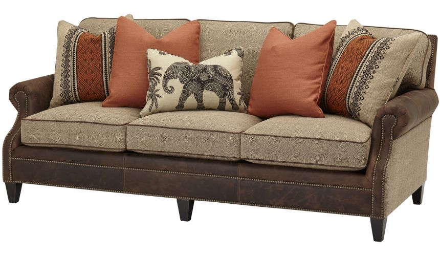 SOFA, COUCH & LOVESEAT Traditional Upholstered Sofa