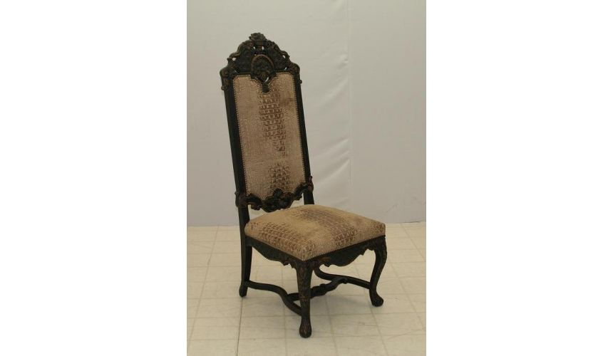 Carved Host Side Chair A30023-03