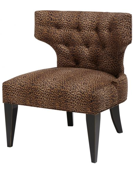 Dining Chairs Tufted Armless Chair