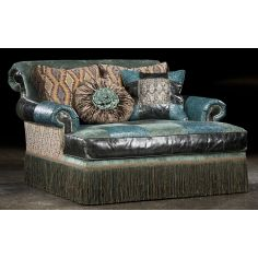 Chaise Chair high style, leather, fabric
