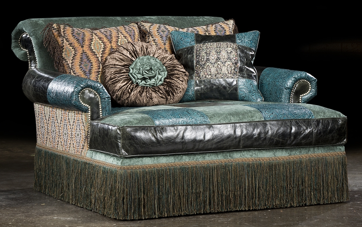 chaise chair high style leather fabric