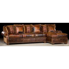 Chaise lounge sofa. 448