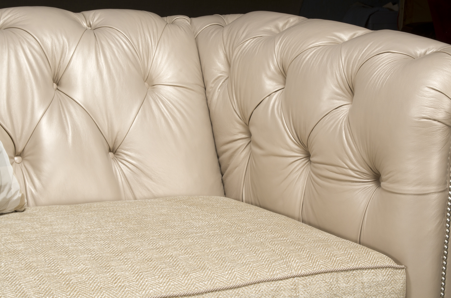 Chesterfield Tufted Sofa, High End Upholstered Furniture
