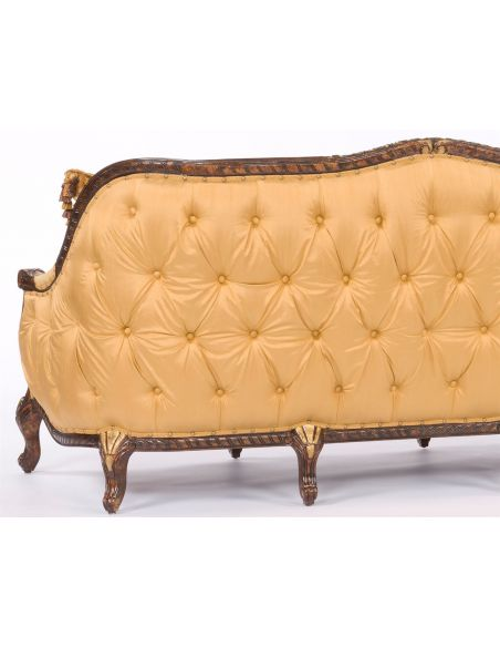 SOFA, COUCH & LOVESEAT Chic Tufted Sofa